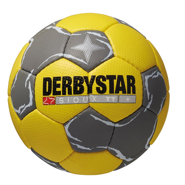 Derbystar Sioux TT - Balón de Balonmano Amarillo Gelb/Grau Talla:0 ...