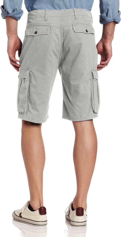 Levi's Mens Twill Casual Cargo Shorts Limestone - Discontinued