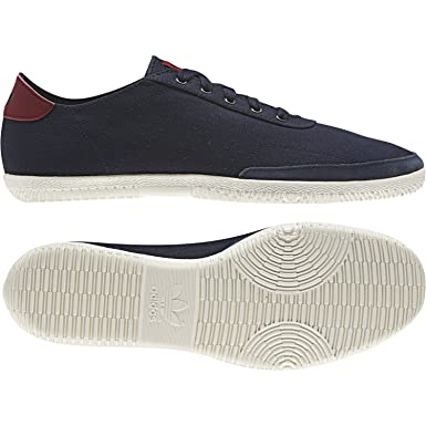 D65642 Adidas Originals Plimsole 3 - Navy Red White Size 4  Amazon ... f93af01490