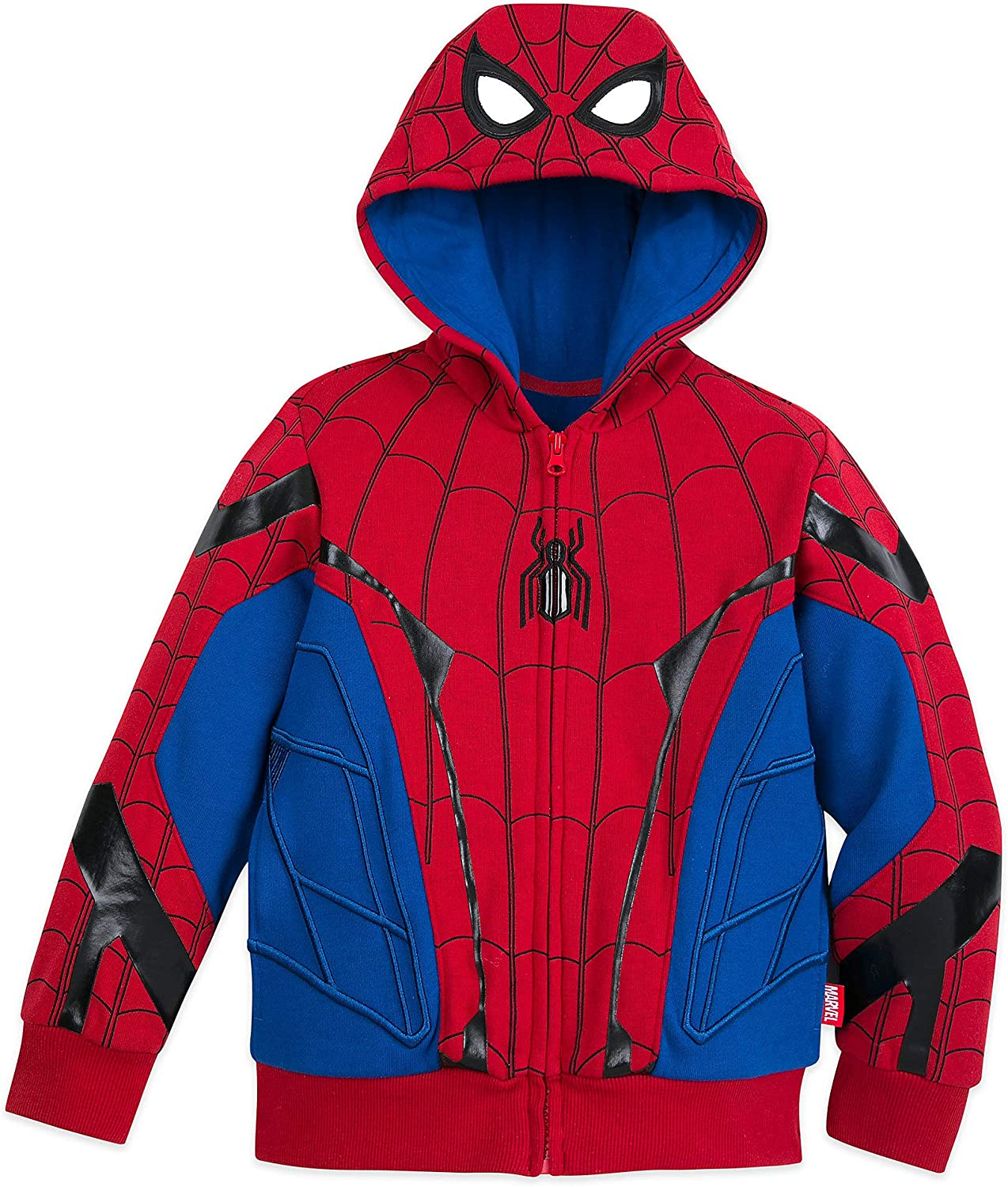 Blue Marvel Spider-Man Winter Jacket for Kids
