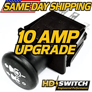 AYP, Craftsman 169416, 169417, 174652, 94927 Clutch PTO Switch - Free 10 AMP Upgrade - HD Switch
