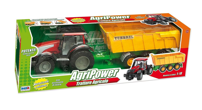 RSTA 9572 - Maxi Tractor agripower con Embrague: Amazon.es: Juguetes y juegos
