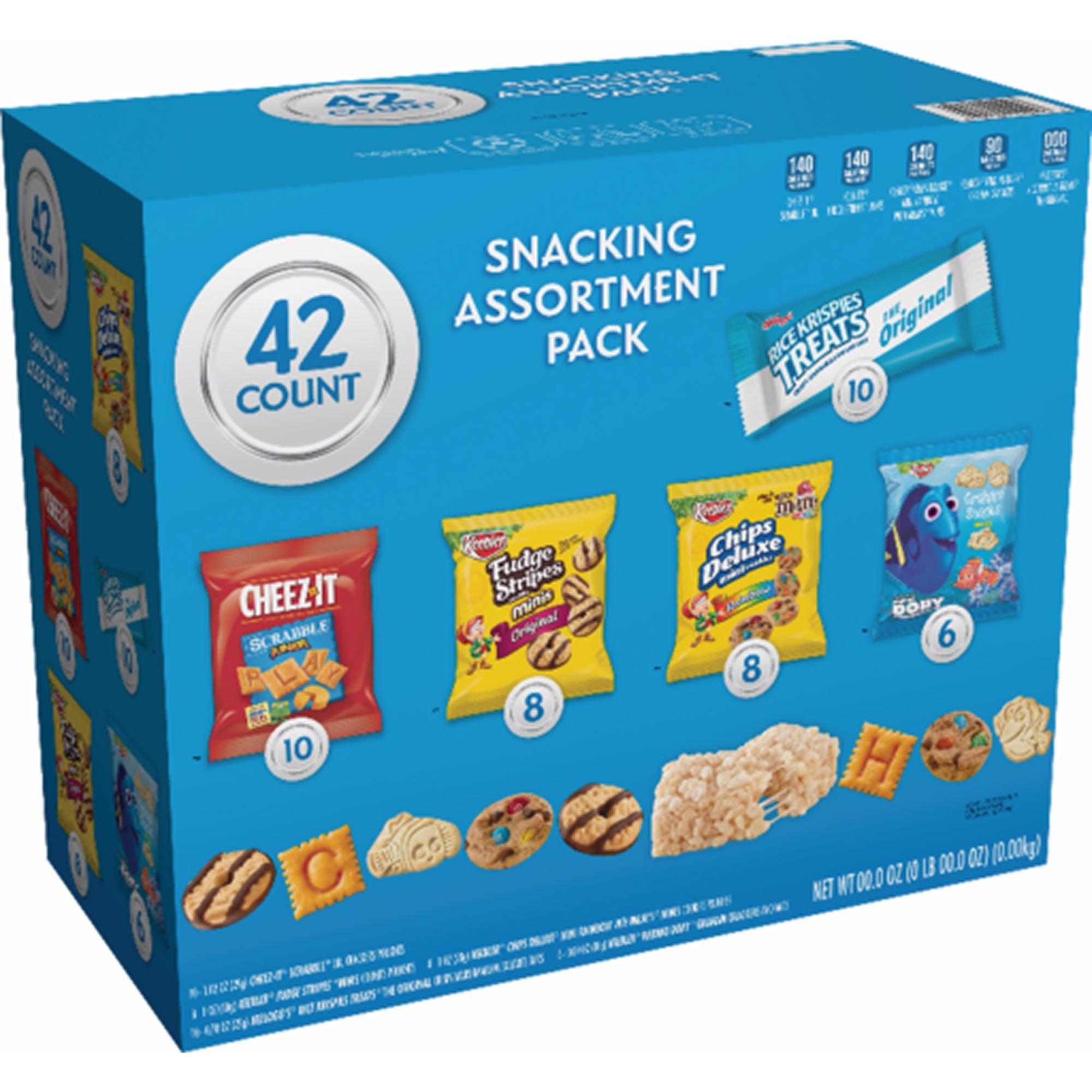Keebler Cookies and Crackers Variety Pack, 42 ct. (pack of 6)
