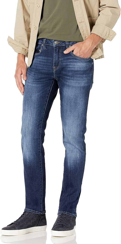 Buffalo David Super Very popular! sale period limited Bitton Men's Jeans Slim Ash