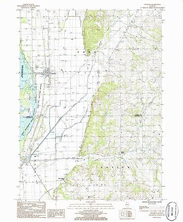 Thomson Illinois Map.Amazon Com Yellowmaps Thomson Il Topo Map 1 24000 Scale 7 5 X