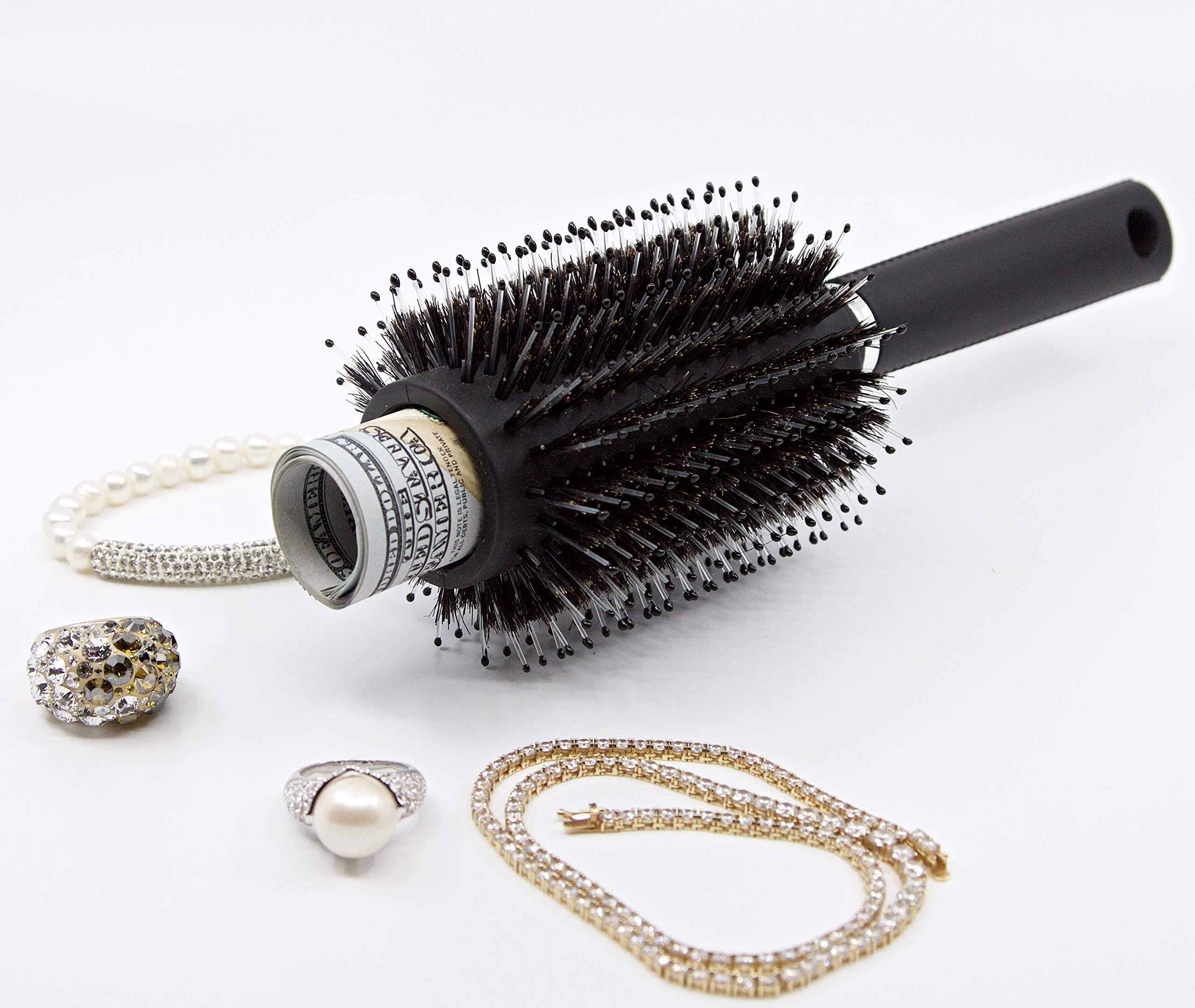 Mister Lit Hair Brush Stash & Diversion Safe-Functional Brush w/Secret Top (2 Pack)