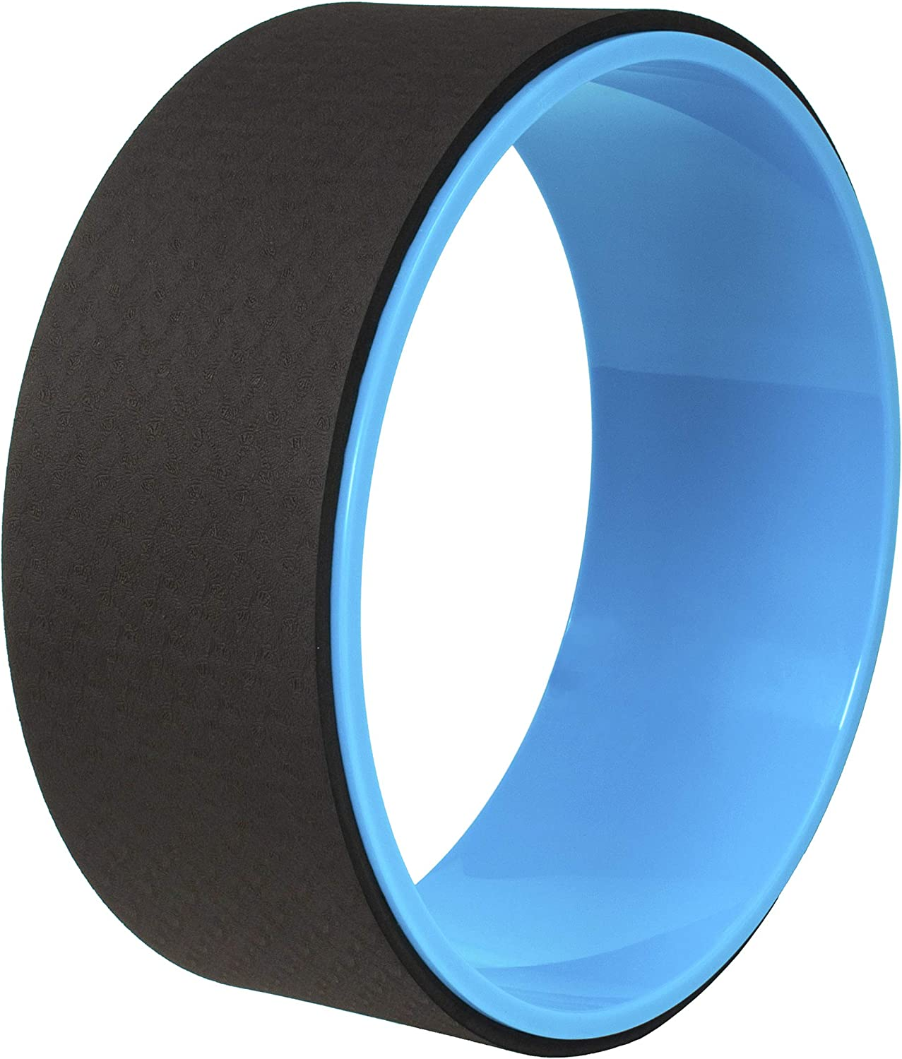 BalanceFrom Yoga Wheel for Stretching Dharma Yoga Prop Wheel, Comfortable Support for Yoga Poses and Backbends