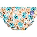 Bambino Mio, pañal bañador, calamar azul, grande (1-2 años)