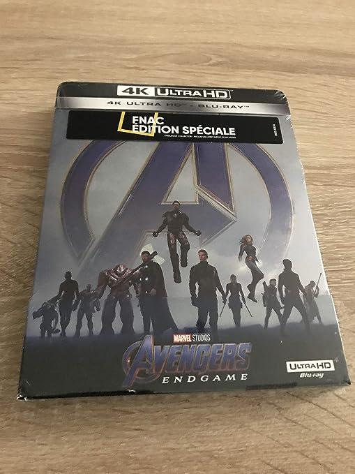 Avengers Endgame Steelbook Fnac 4k: Amazon.es: Cine y Series TV