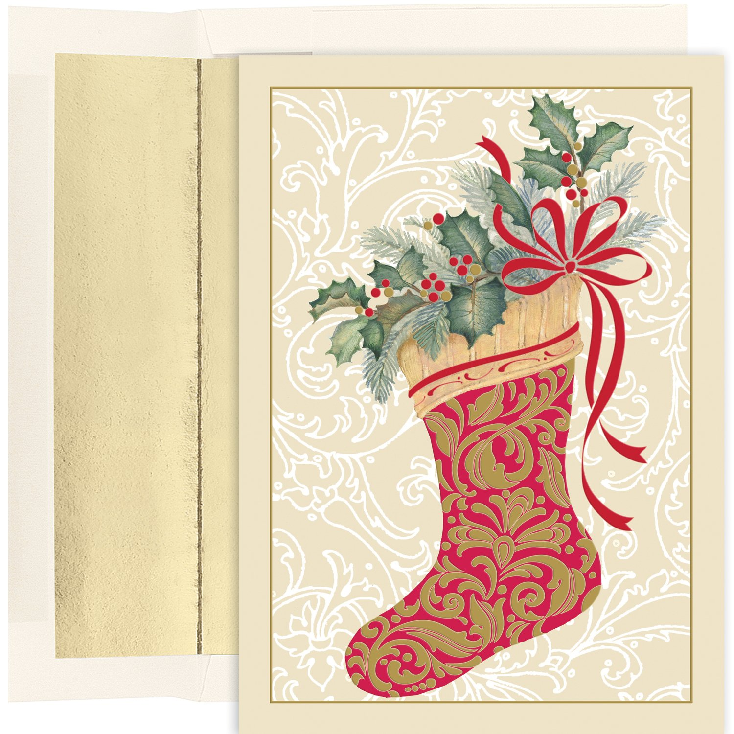 Masterpiece Studios Holiday Collection 16 Cards // 16 Foil Lined ...