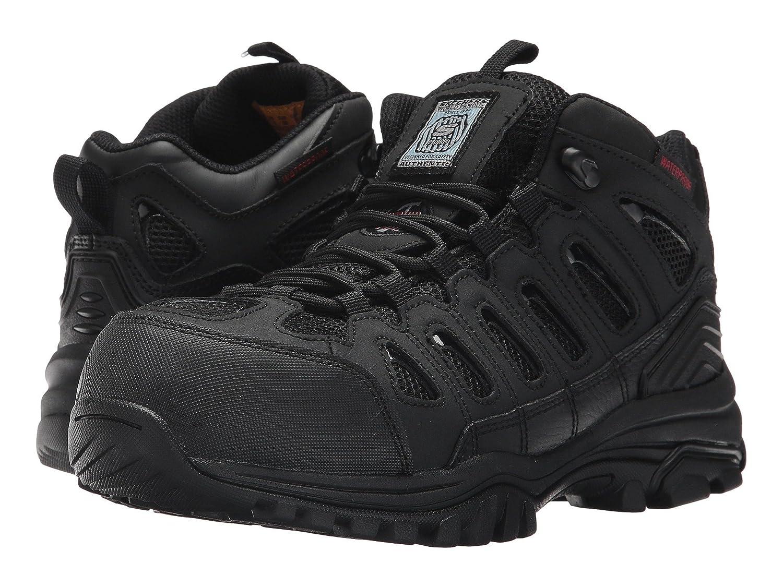 (スケッチャーズ) SKECHERS レディースワークシューズナースシューズ靴 Hardwood [並行輸入品] B07FS3R98M 6.5 (23.5cm) B Medium|ブラック ブラック 6.5 (23.5cm) B Medium