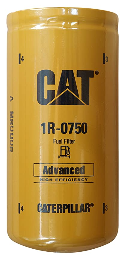 Caterpillar 1R-0750 Advanced High Efficiency Fuel Filter Multipack Pack of 1