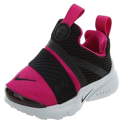 333d2045465d NIKE Presto Extreme Toddlers  Shoes Black Black Pink Prime White 870021-004
