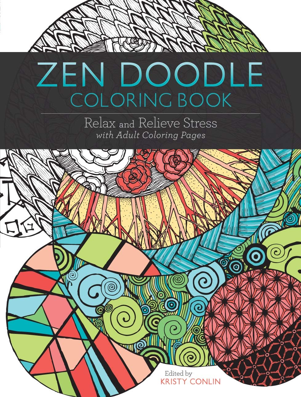 - Amazon.com: Zen Doodle Coloring Book: Relax And Relieve Stress