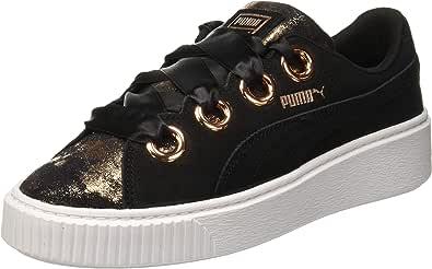 Puma Platform Kiss Artica Sneaker For Women (Black - 39 EU)