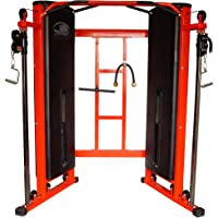 KAKSS Commercial Gym Functional Trainer Cable Machine with 140 kg Weight Stacks (2X4-PIPE)