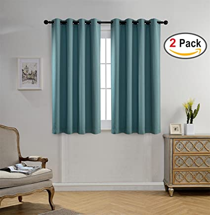 Very Amazon.com: Miuco Blackout Curtains Room Darkening Curtains  CF75
