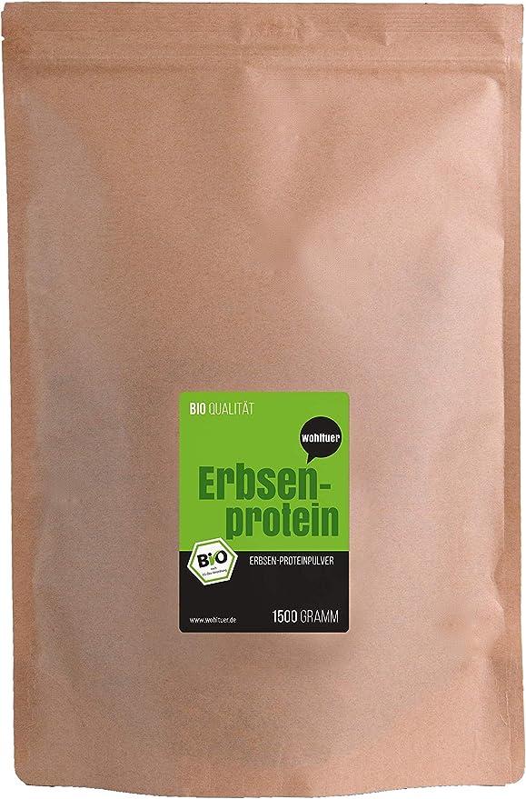 Wohltuer, Proteína de guisante orgánica (1500 g)