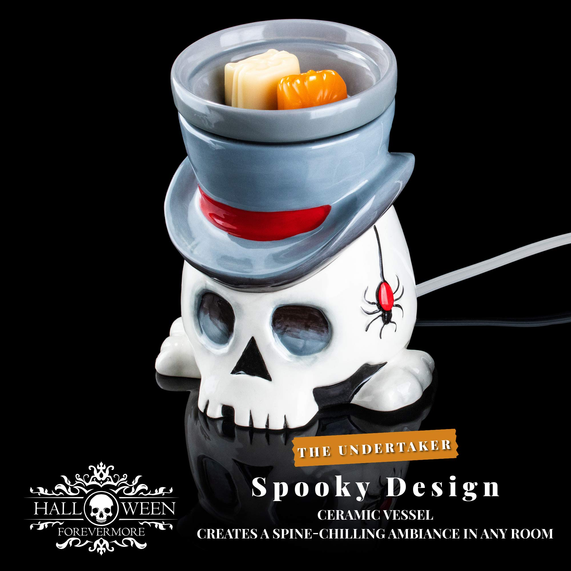 The Undertaker Horror Style Wax Warmer by Halloween Forevermore (Image #2)