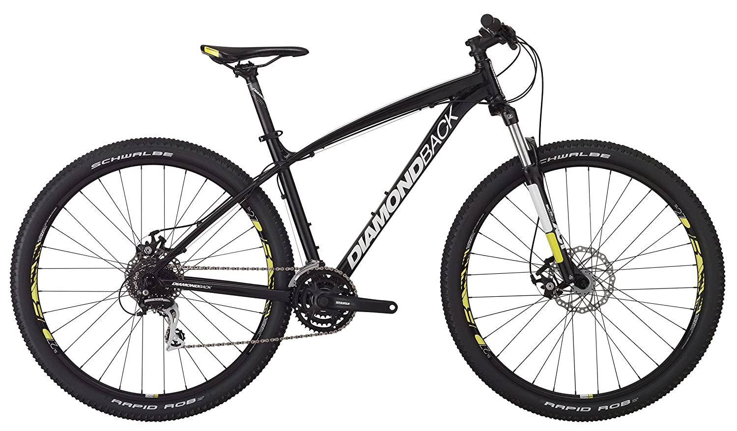Amazon.com : Diamondback Bicycles Overdrive 29er Complete READY RIDE Hardtail Mountain Bike