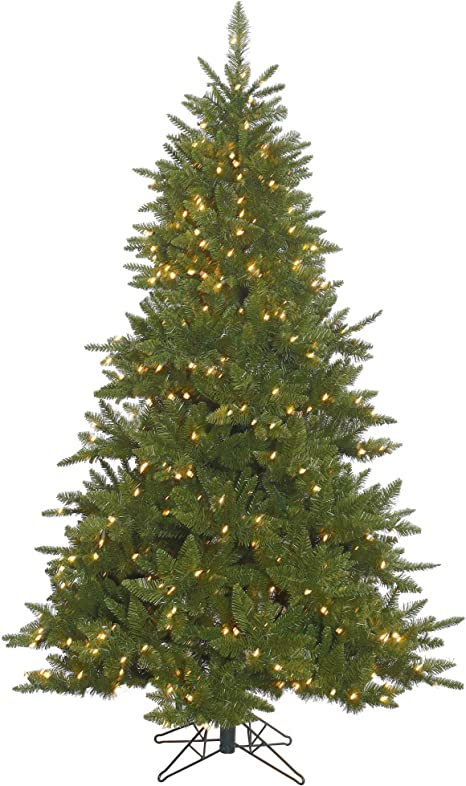 Vickerman Durango Spruce Artificial Christmas Tree With 300 Clear Lights 4 5 X 37 Home Kitchen
