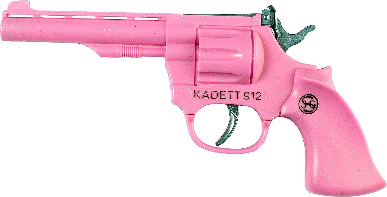 J. G. Schrödel 4029120 - Cadet 100 tiros en probador de Arma, 19cm, Rosa