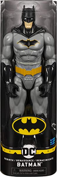 Batman 12-inch Rebirth Action Figure toy for kids in package