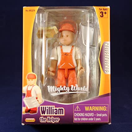 Mighty World William the Helper International Playthings