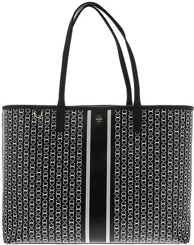 Top Handle Handbag On Sale, Black, Leather, 2017, one size Tory Burch
