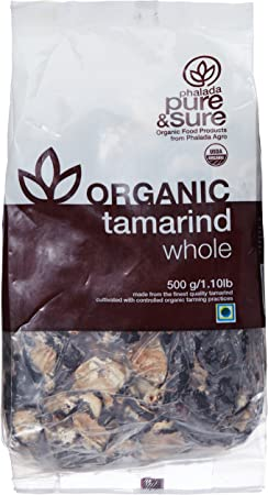 Pure & Sure Organic Tamarind Whole, 500g