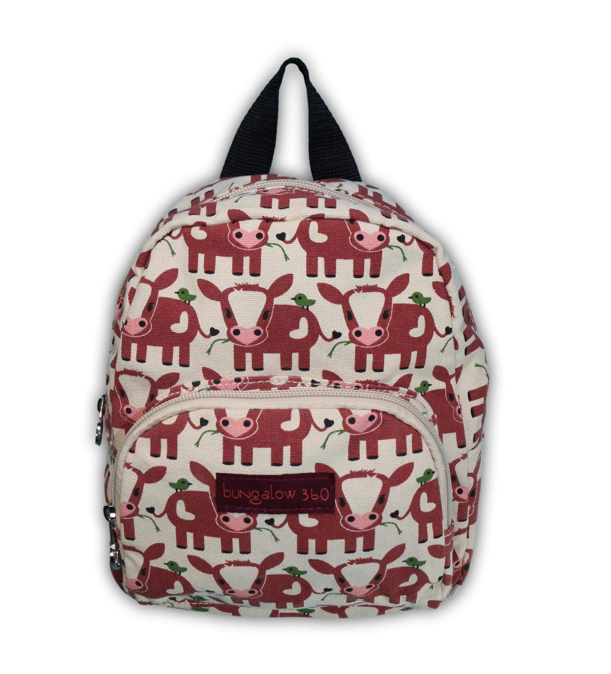 Bungalow 360 Kids Mini Backpack (Cow)