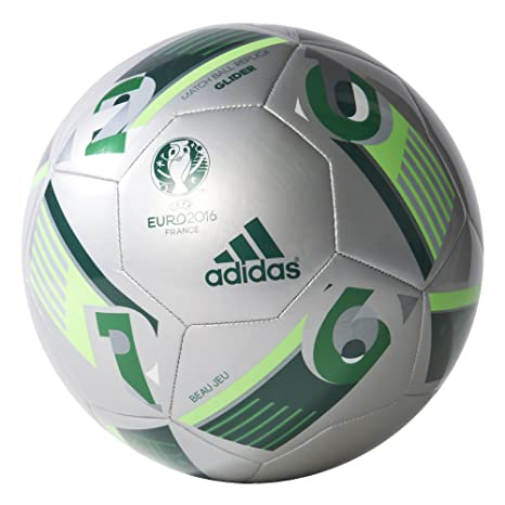Amazon.com   adidas Performance Euro 16 Glider Soccer Ball   Sports ... 0a35ccfe978b7
