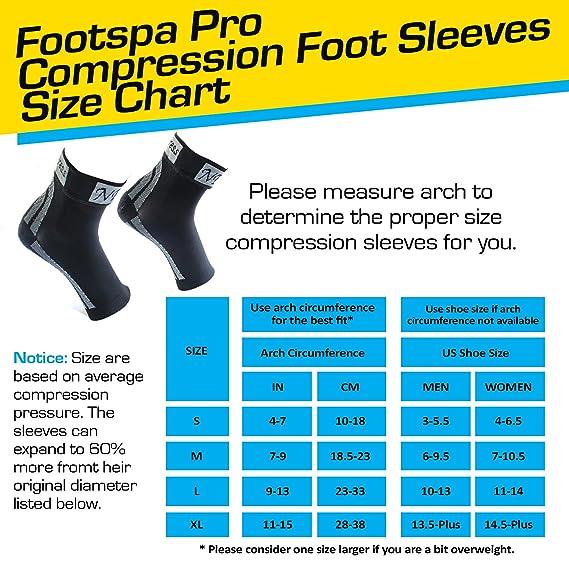 Amazon.com: Mangas de compresión prémium para pies con ...