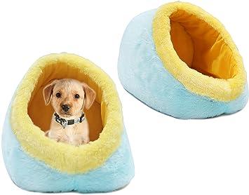 BPS® Casa para Perros de Ante, Cama para Perros, Cuna para Perro Suave