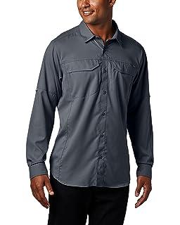 42f90234 Columbia Men's Silver Ridge Lite Long Sleeve Shirt, UV Sun Protection,  Moisture Wicking Fabric