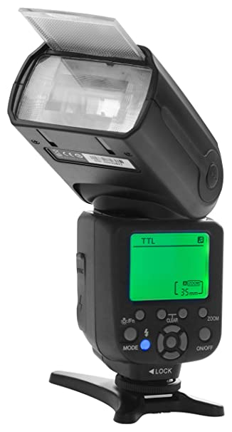 deac34f113a0ac Buy Osaka Camera TTL Flash Speedlite Speedlight DF860 Mark III for Canon  and Nikon Cameras Online at Low Price in India