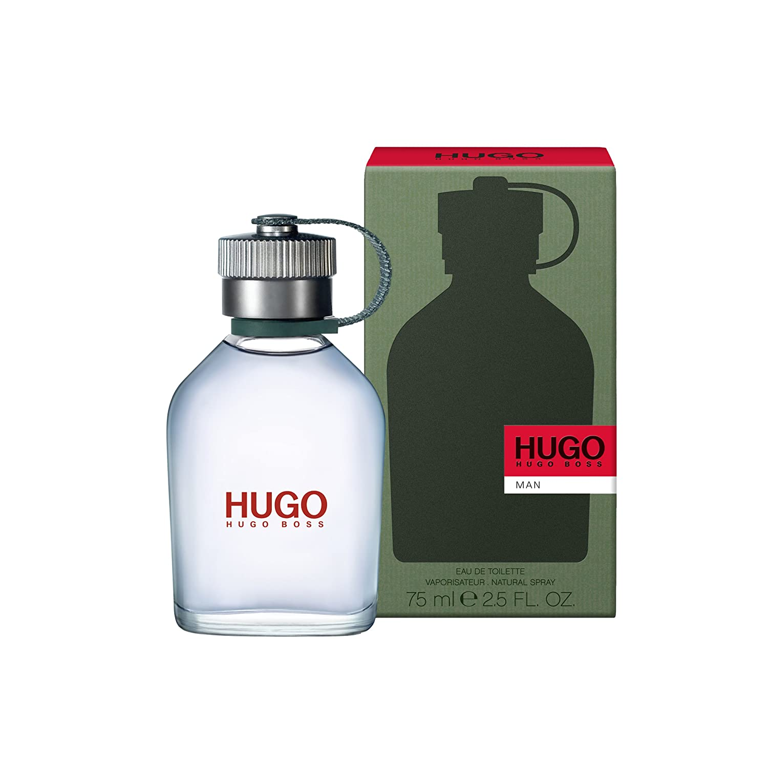 9c02ae1181 Amazon.com: Hugo Boss MAN Eau de Toilette, 2.5 Fl Oz: Luxury Beauty