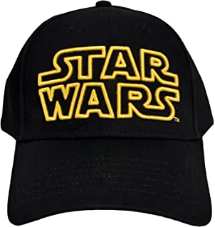 a2c4302e4f Star Wars Classic Embroidered Logo Outline Adult Hat Baseball Cap