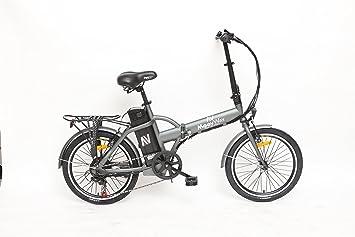 moovway plegable Urban – Bicicleta eléctrica City gris MATT