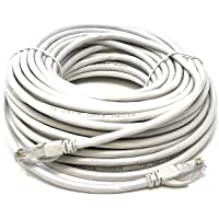 Mr. Tronic 20 Metros Cable de Red Ethernet Latiguillo 20m | CAT6, AWG24, CCA, UTP, RJ45 | Color Gris