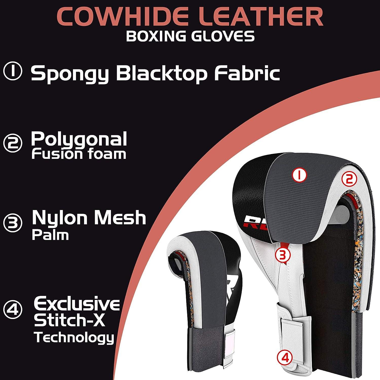 Amazon.com: RDX Boxing Gloves for Training & Muay Thai ...