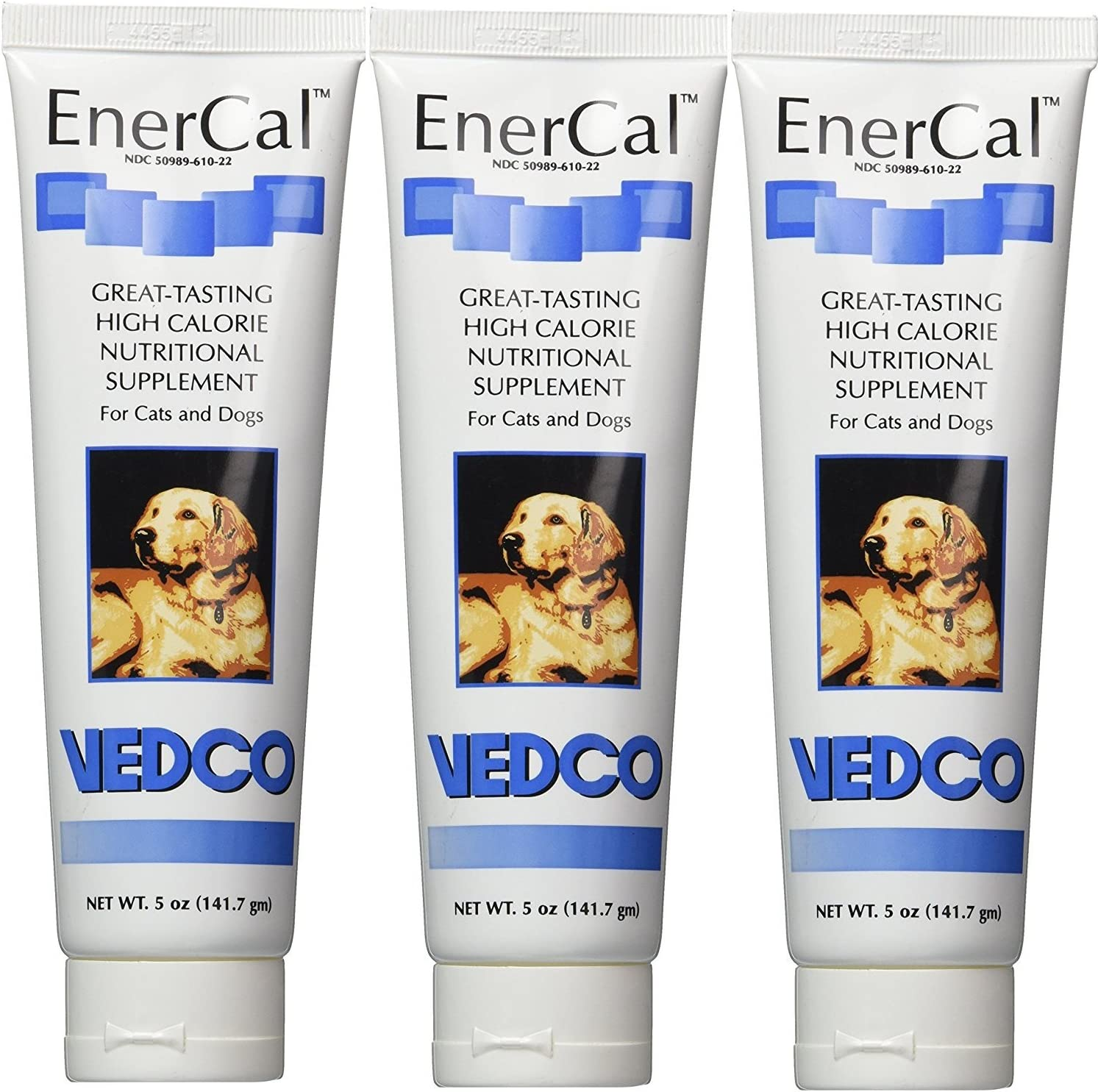 EnerCal High Calorie Nutrition Suppliment For Cats and Dogs 5oz Tube