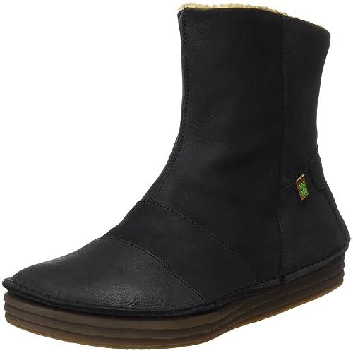 Womens N5043 Pleasant Rice Field Ankle Boots, Black, 7 UK El Naturalista
