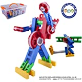CTK Engineer Building Set – Fun STEM Toys for 3, 4, 5, 6, 7, 8, 9+ year old Boys & Girls - Best Birthday Gift Ages 3-9 – Creative & Learning kit for three four five six seven eight nine year olds kids