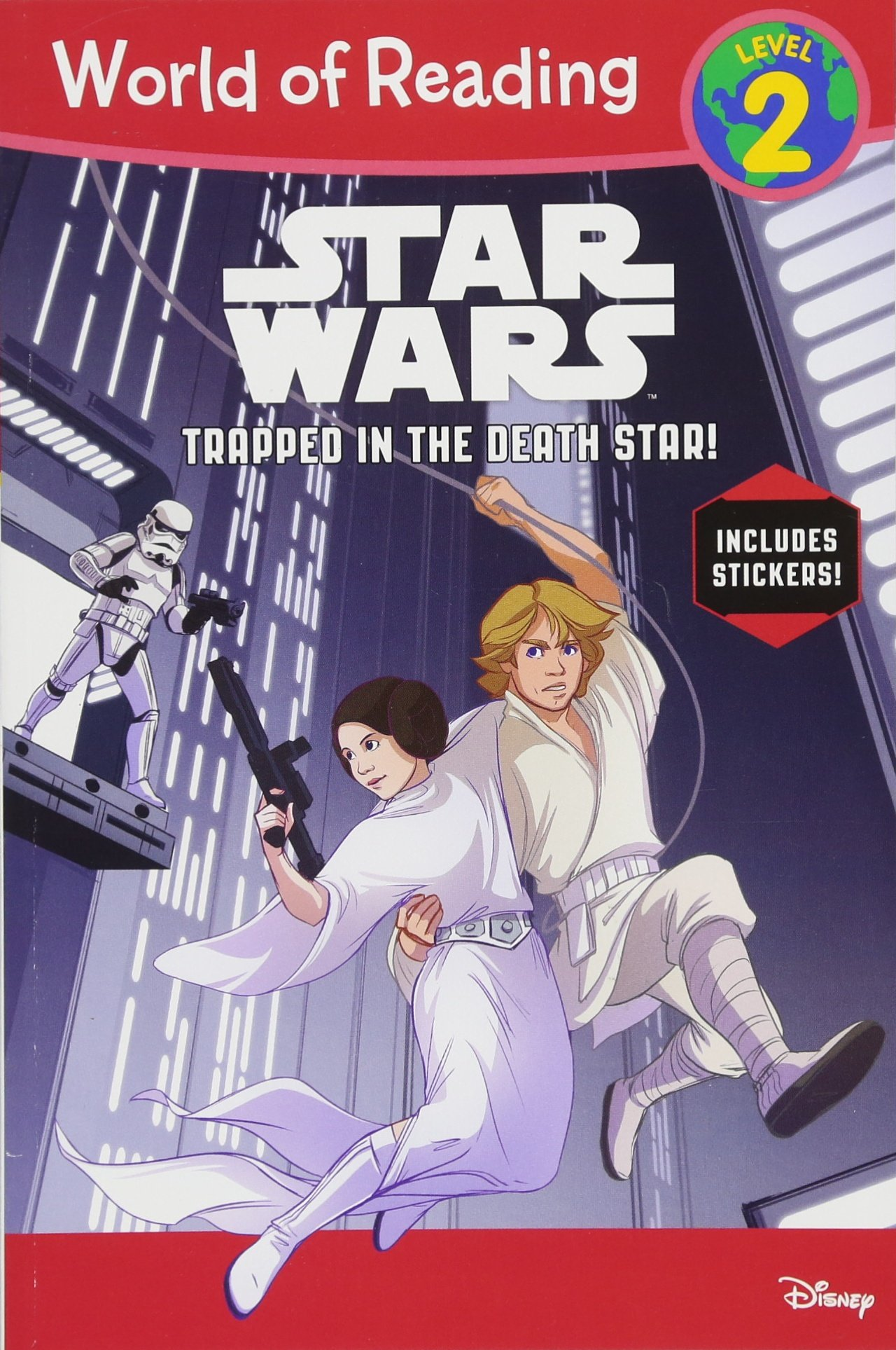 Download World of Reading Star Wars Trapped in the Death Star! (Level 2) pdf epub