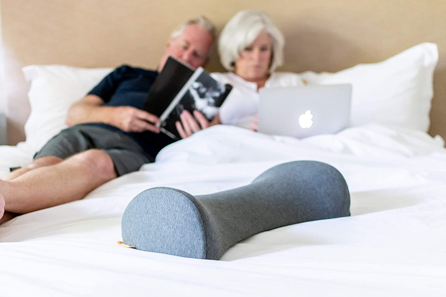 Improves Posture /& Alignment Low Back Pelvic Sciatica Pain Gently Releases Muscle Tightness /& Stress Scientifically Designed by Doctors Decompression Slumbar Lumbar Posture Pillow