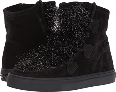 Kennel & Schmenger Womens Basket Shearling Sneaker