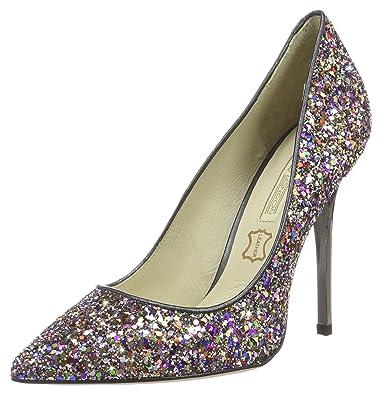 Buffalo 11335-269 Glitter Sl01, Escarpins Femme, (Multicolor 02), 36 EU
