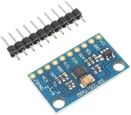 GY-9250 MPU-9250 SPI I2C 9DOF Attitude Sensor Compass Acceleration Gyro Module