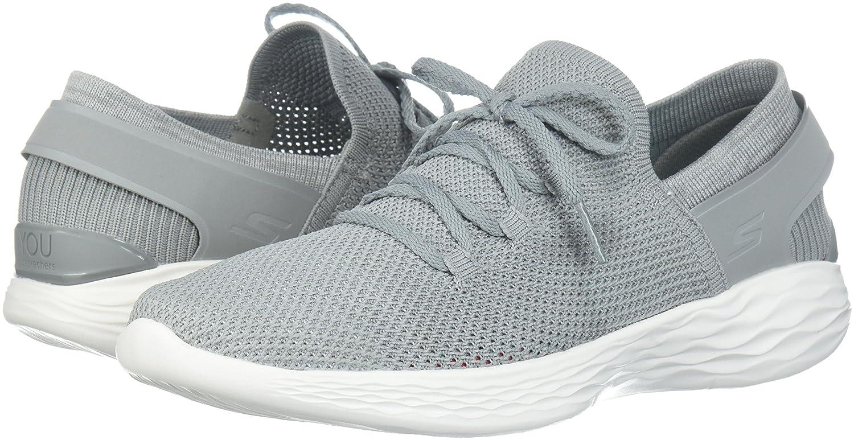 Skechers Women's You-14960 11 Sneaker B072R1GTPQ 11 You-14960 B(M) US|Gray/White 516c4c